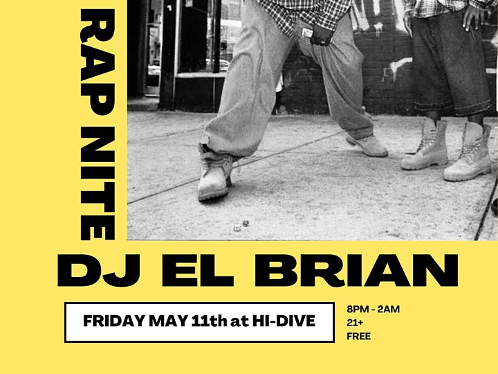 Rap Nite with El Brian image