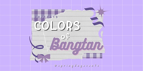 Colors of Bangtan Anniversary Cafe tickets