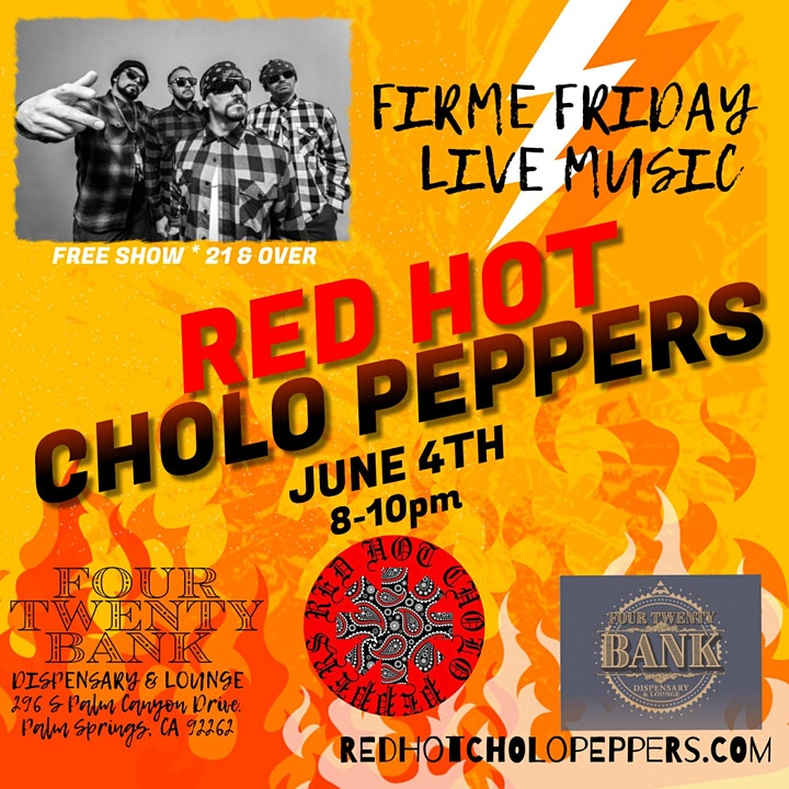 Red Hot Cholo Peppers Live image