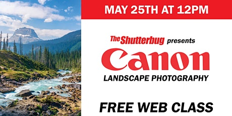 Canon | Landscape Photography with Jeff Leimbach tickets