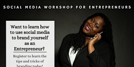 Social Media Workshop for Entrepreneurs tickets