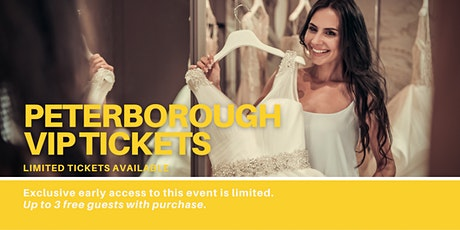Peterborough Pop Up Wedding Dress Sale VIP Early Access tickets