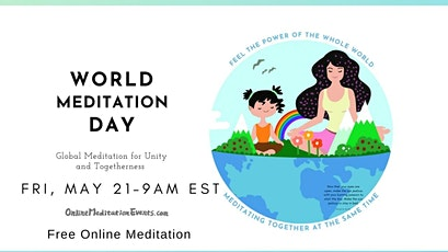World Meditation Day (Free Live Group Guided Meditation) tickets