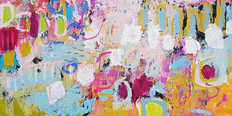 Fields of Flowers: Four Part Virtual Abstract Painting Workshop tickets