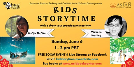 Kids Storytime with Mượn Thị Văn &  Michelle Sterling tickets