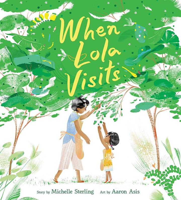 Kids Storytime with Mượn Thị Văn &  Michelle Sterling image