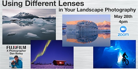 Using Different Lenses in Your Landscape Photography tickets