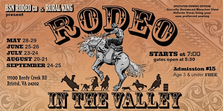 Rodeo in the Valley tickets