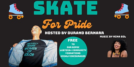 Inside/OUT!-PRIDE 2021 Skate for PRIDE Fundraiser Hosted by Durand Bernarr. tickets
