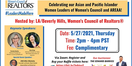 Our Asian & Pacific Islander Women Leaders of Women's Council & AREAA event tickets