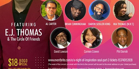 A Night Of Inspiration & Soul Part 2 tickets