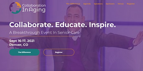 Collaboration In Aging 2021 tickets
