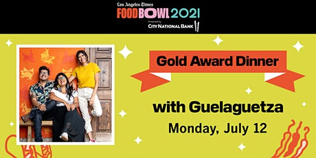 Los Angeles Times Gold Award 2021 - Dinner Party tickets