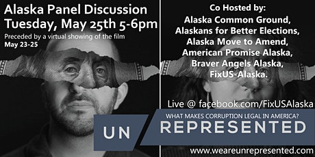 """Alaska Virtual Screening and  Panel Discussion on """"Unrepresented"""" tickets"""