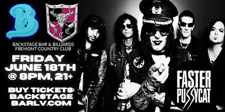 Faster Pussycat with Hollywood Roses and Jeff Carlson Band tickets