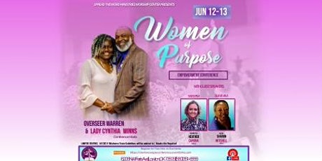 """Spread the Word MWC """"Women Of Purpose"""" Empowerment Conference tickets"""