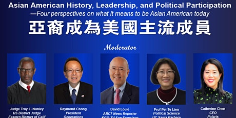 Asian American History, Leadership, and Political Participation tickets