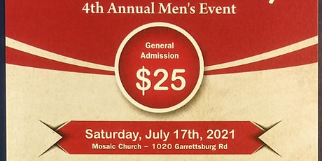 "4th Annual Men's Event	   ""A Call to Duty"" tickets"