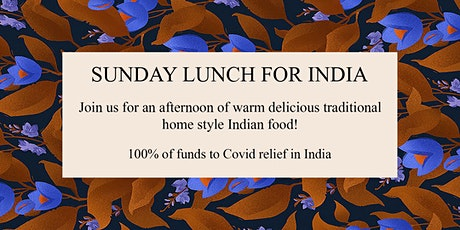 Sunday Lunch for India tickets