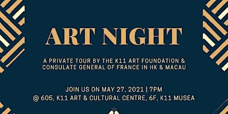 Art Night Tour + Happy Hour tickets