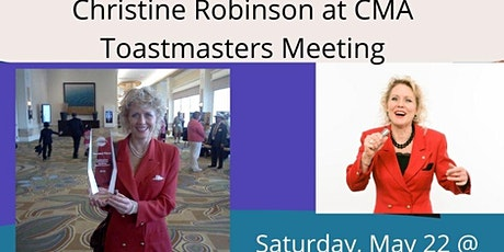 """New Beginnings"" with Christine Robinson, Champion speaker @ Toastmasters tickets"