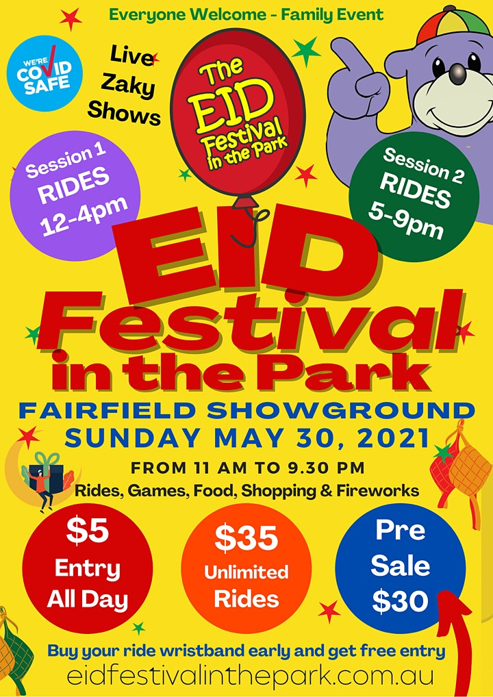 EID FESTIVAL IN THE PARK image