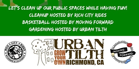 Rich City Rides Community Clean Up @ Unity Park. A Family Friendly Cleanup tickets