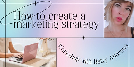 How to create a marketing strategy workshop tickets