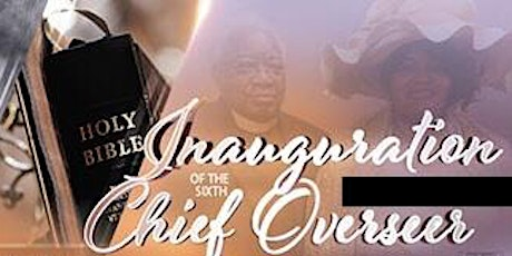 Chief Overseer Inaugural Dinner tickets