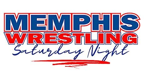 Memphis Wrestling Saturday Night tickets