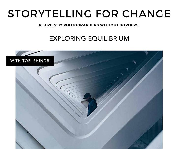 Storytelling for Change: Exploring Equilibrium with Tobi Shinobi image