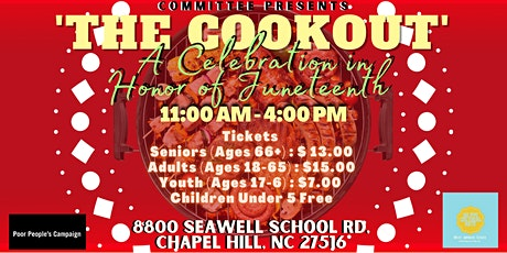 'The Cookout': A Celebration In Honor Of Juneteenth tickets