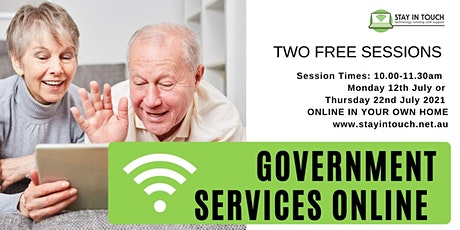 Popular Government Online Services - MyHealthRecords and MyGov tickets