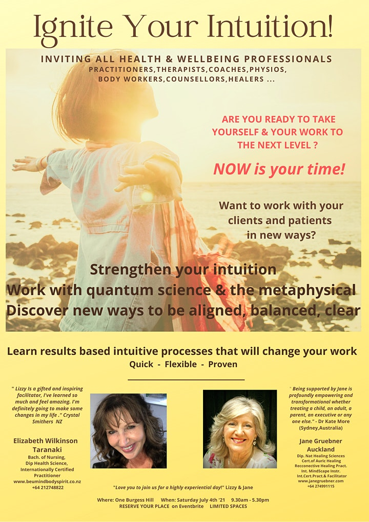 IGNITE YOUR INTUITION image