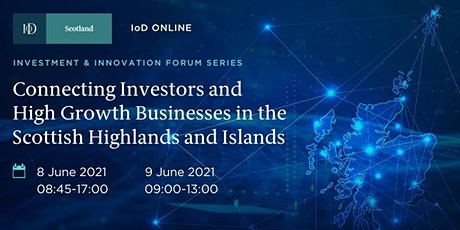 QUESTIONNAIRE to present at Scotland H&I Innovation and Investment Forum Tickets
