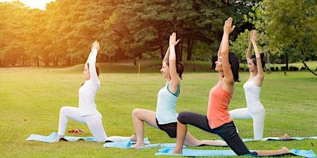 DT Bellevue Outdoor Yoga Class tickets