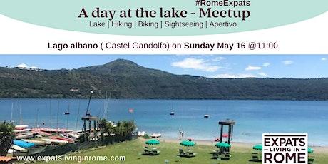 A DAY AT THE LAKE (CASTEL GANDOLFO) biglietti