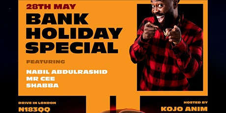 Four Wheel Comedy - Spring Bank Holiday tickets