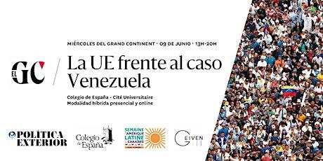 La UE frente al caso Venezuela billets
