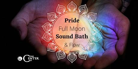 Pride Full Moon Yoga Sound Bath with Wataya Roberson & Amber Field tickets