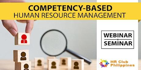Live Webinar: Competency-based HR Management tickets
