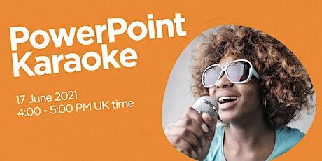 PowerPoint Karaoke tickets