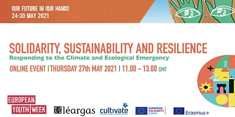 SOLIDARITY, SUSTAINABILITY AND RESILIENCE tickets