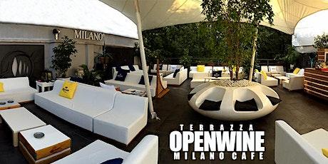 OPENWINE - Apertura Nuova Terrazza Milano Cafè biglietti