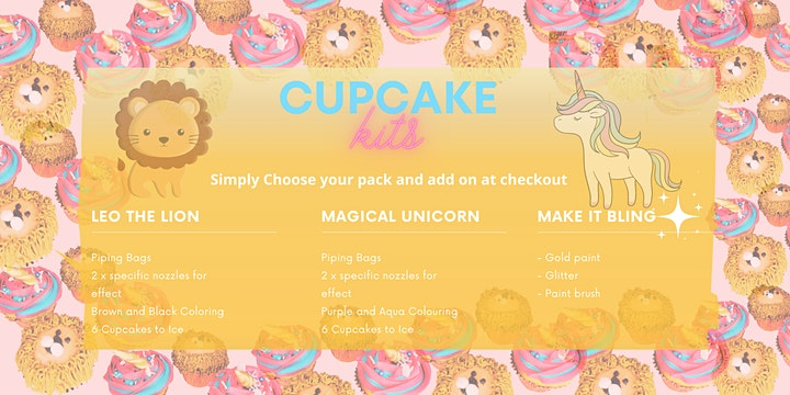Become the Cupcake Queen! Cupcakes, Brunch and Coffee image