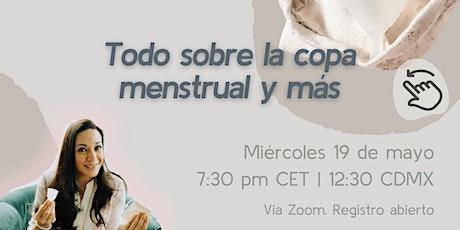 Todo sobre la copa menstrual y más entradas