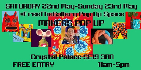 Exciting Makers Market Pop Up Crystal Palace tickets