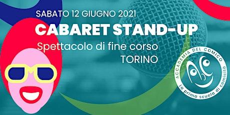 Cabaret Stand-up #ToCab123 biglietti