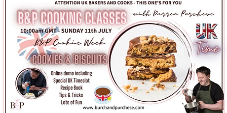 UK TIME - Darren Purchese Masterclass : Cookies, Biscuits & Macaroons tickets