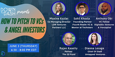 How to Pitch to Venture Capitalists and Angel Investors tickets